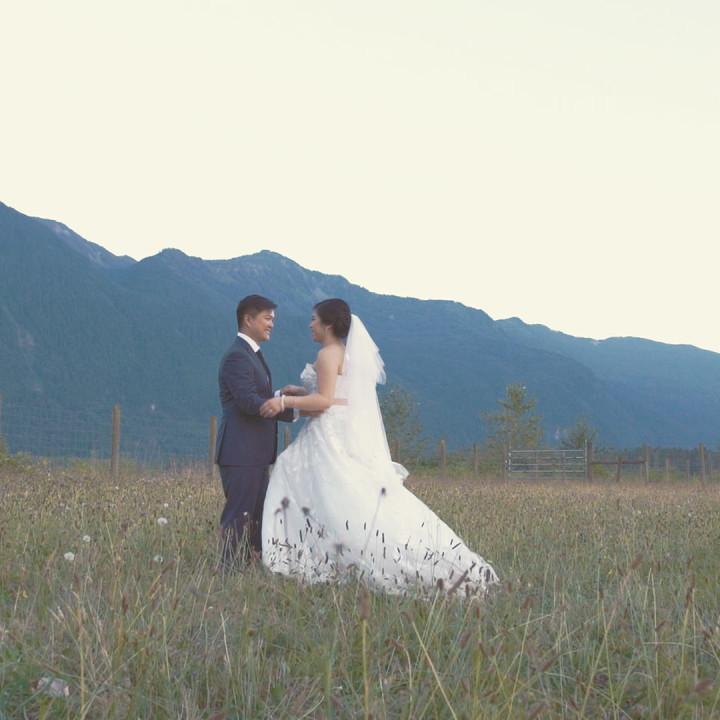 Carrie & Julien // Wedding Film // Fraser River Lodge, Agassiz,BC