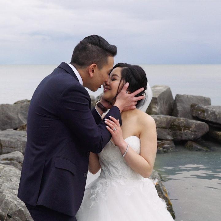 Audrey + Jonathan | Wedding Highlight Film | Holcim Waterfront Estate, Ontario