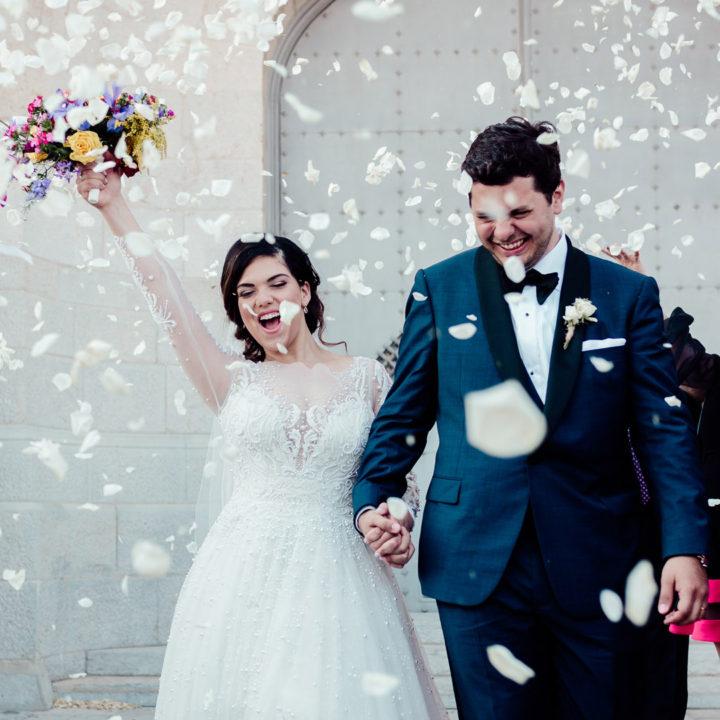 Barcelona Wedding Film | Temple Expiatori del Sagrat Cor |Admiral De La Font | Hiram + Marylise