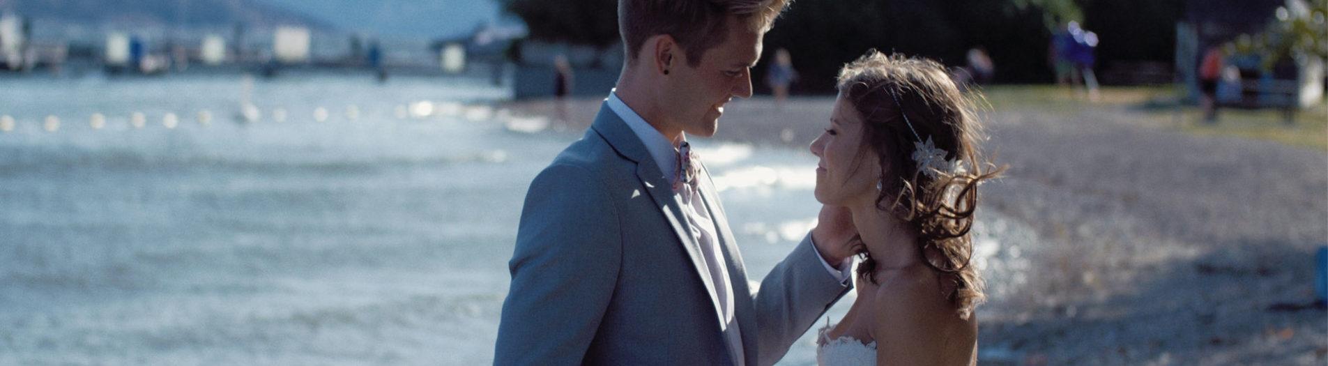 Kelowna Wedding Film at Gellatty Nut Farm & The Cove Lakeside Resort | Rachel + Wes