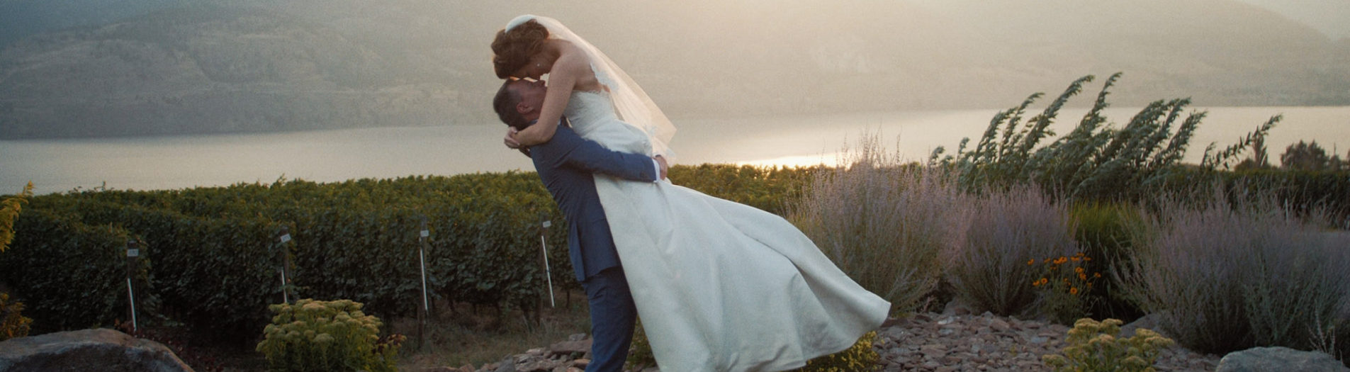 Wedding Film at Painted Rock Estate Winery, Penticton BC | Taryn + Mike