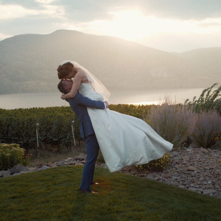 Wedding Film at Painted Rock Estate Winery, Penticton BC   Taryn + Mike