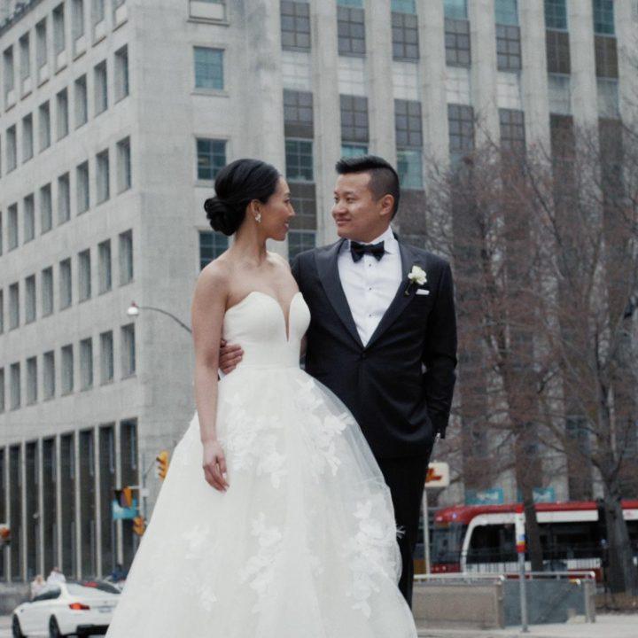 Shangri-La Toronto Wedding Film | Toronto Wedding Cinematography | Monica + Garros