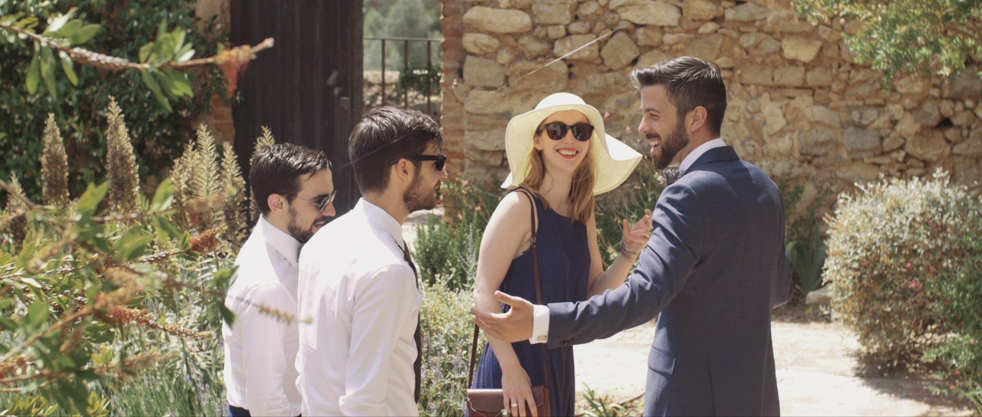 destination wedding cinematography case Felix sitges barcelona Spain