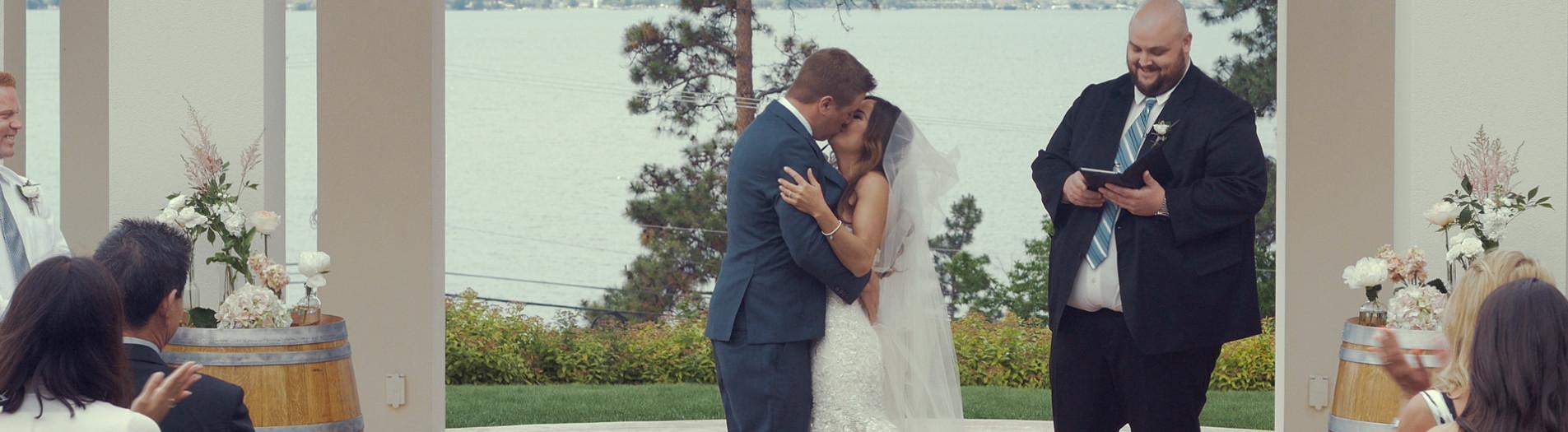 Blaine & Wyn // Wedding Film BC // Cedar Creek Winery, Kelowna, BC