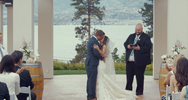 Blaine & Wyn // Wedding Film BC // Cedar Creek Winery, Kelowna, BC