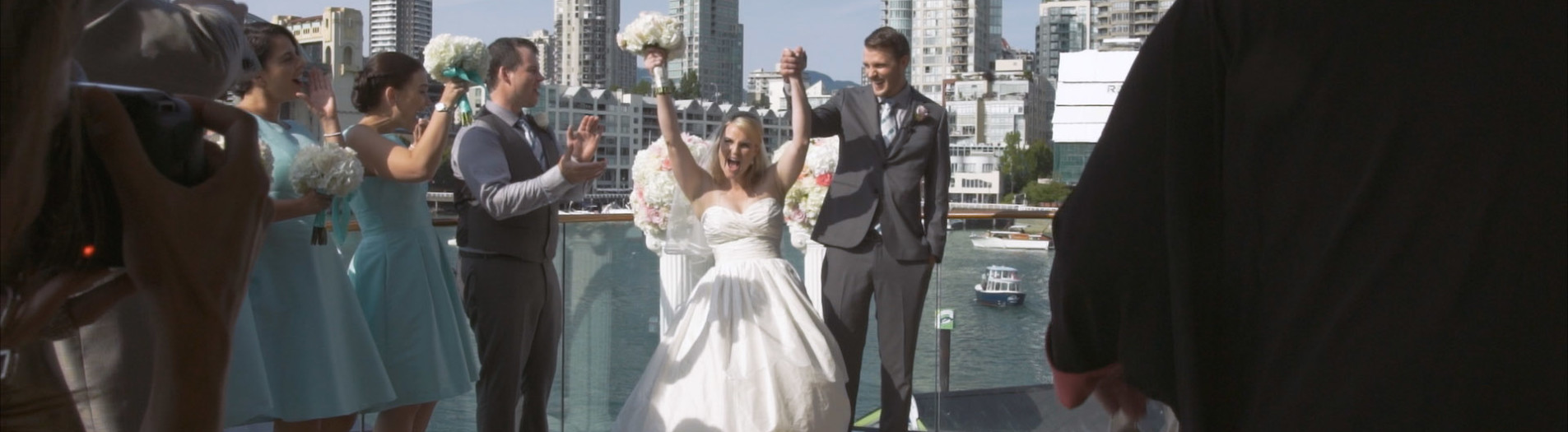 Andrea & Austin // Bridges Restaurant Granville Island // Vancouver Wedding Film
