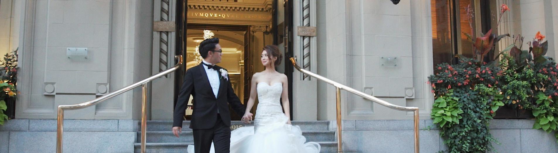 Dahye & Kevin // Wedding Highlight Film // Vancouver Club, Vancouver BC
