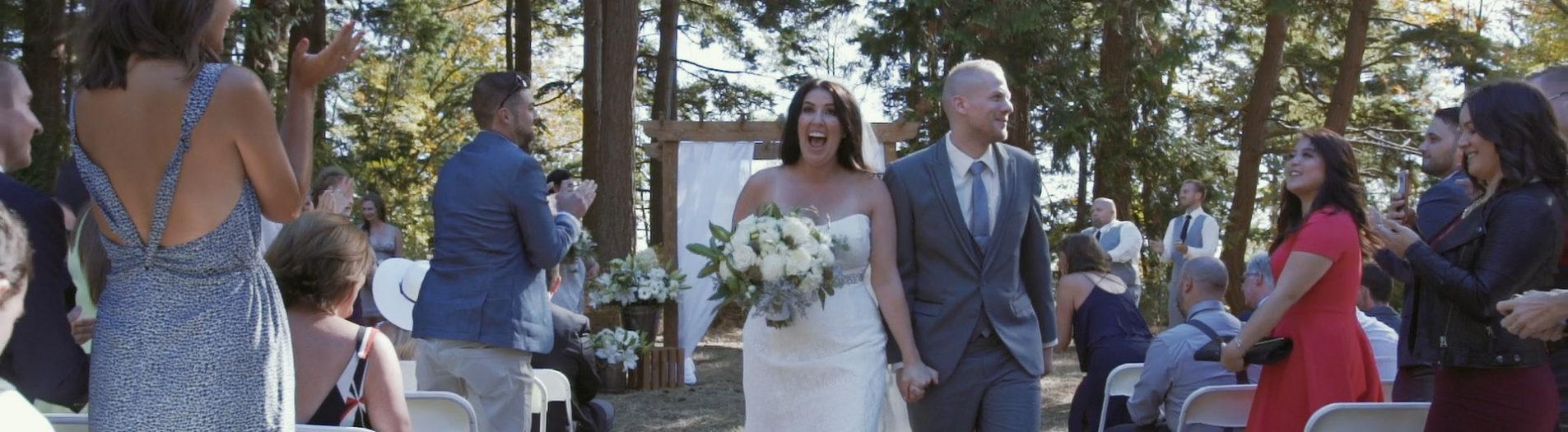 Lauren + David | Wedding Highlight Film | Kwomais Lodge Sanford Hall, Surrey BC