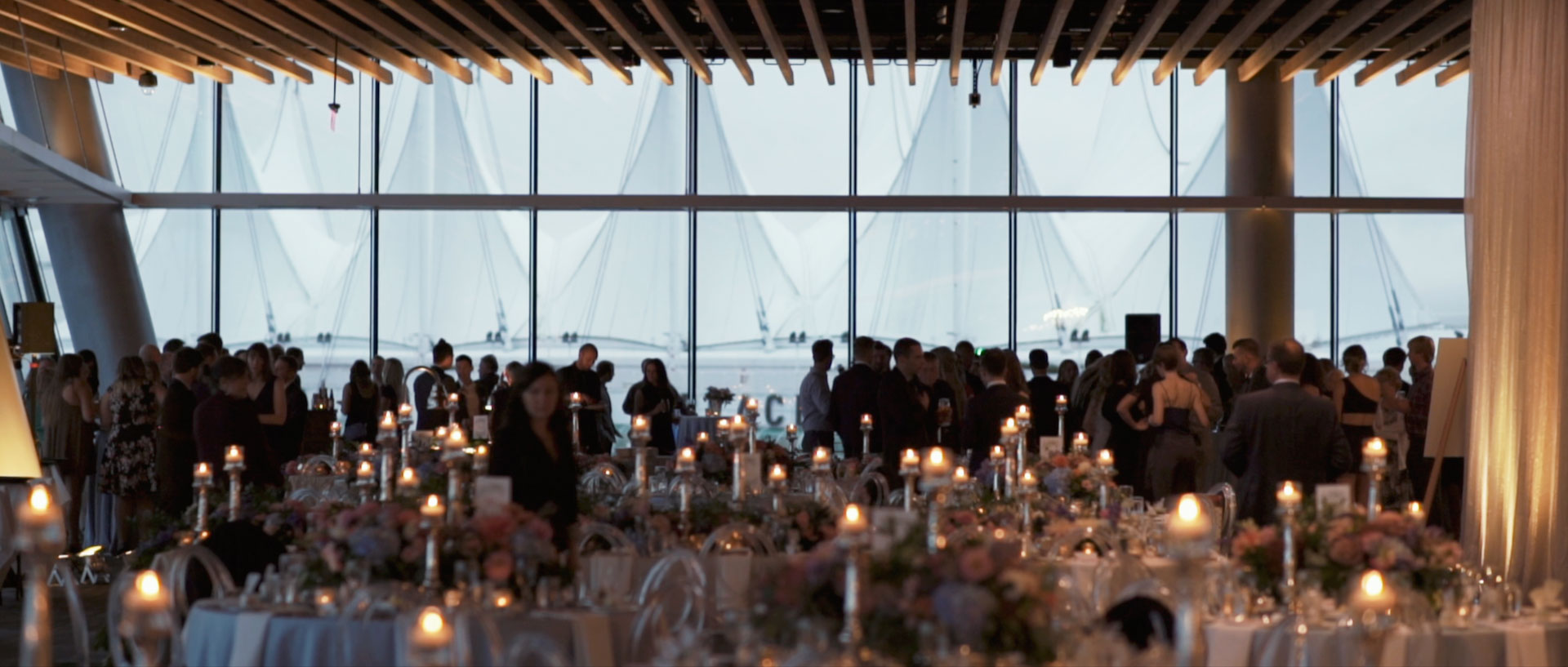 Vancouver convention centre wedding video vancouver by kismet creative wedding films