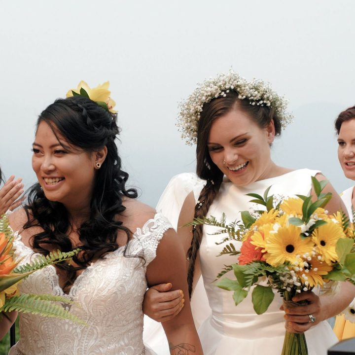 Emotional Same Sex Wedding Video at American Lodge, Hope BC   April + Chloe