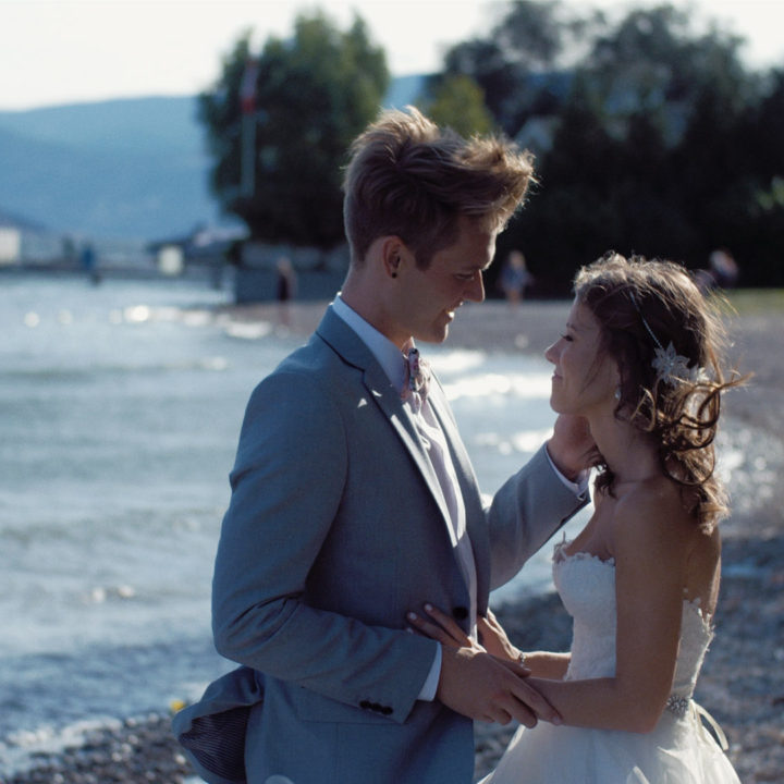 Kelowna Wedding Videographer | Gellatty Nut Farm & The Cove Lakeside Resort | Rachel + Wes