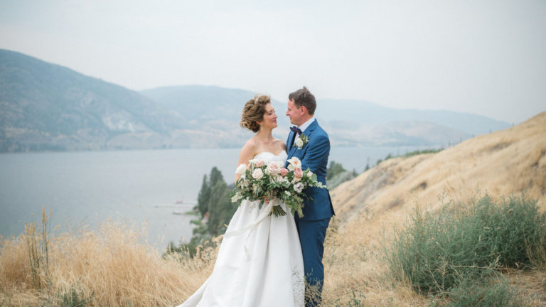 Luxurious Painted Rock Winery Wedding | Penticton Lakeside Resort | Taryn + Mike