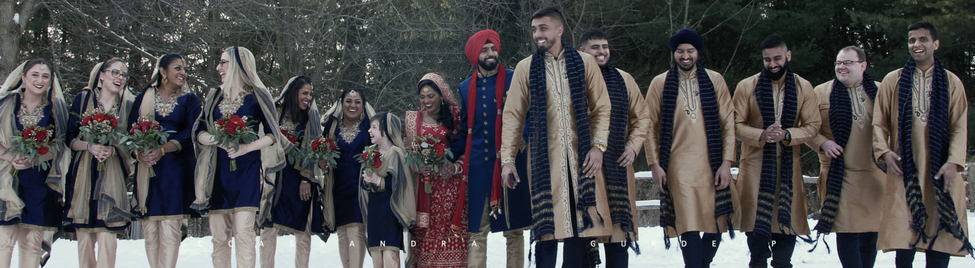 South Asian Wedding Film Ottowa + Toronto | Cassandra + Gurdeep | Next Day Edit