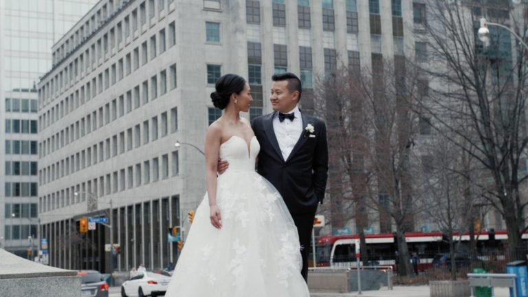 Shangri-La Toronto Wedding Film | Toronto Wedding Cinematography | Monica + Garros