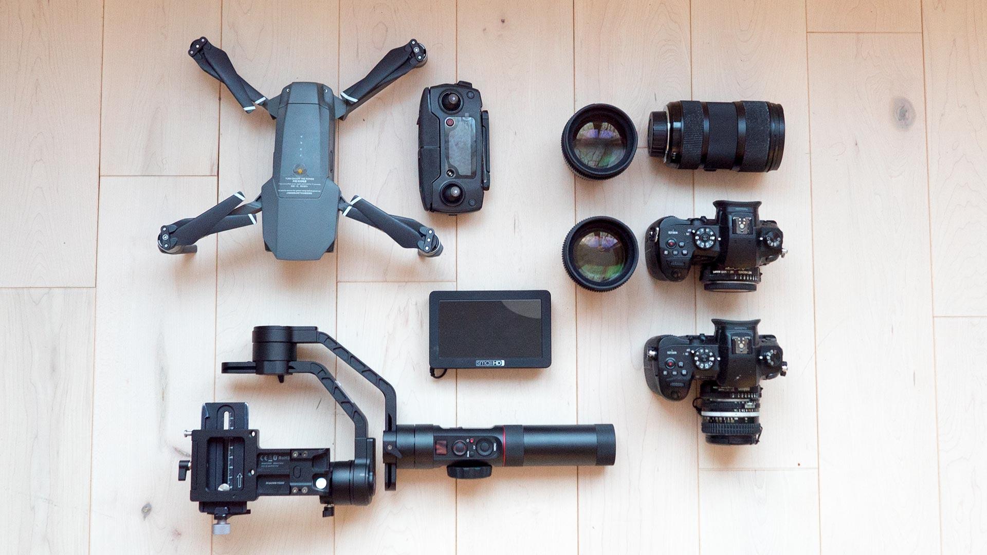 wedding-filmmakers-tools-Panasonic-gh5-dji-mavic-pro-zhiyun-crane-2