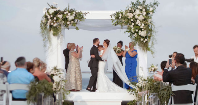 Azul Fives Playa Del Carmen Wedding | Destination Wedding Videography| Rachel + Joe