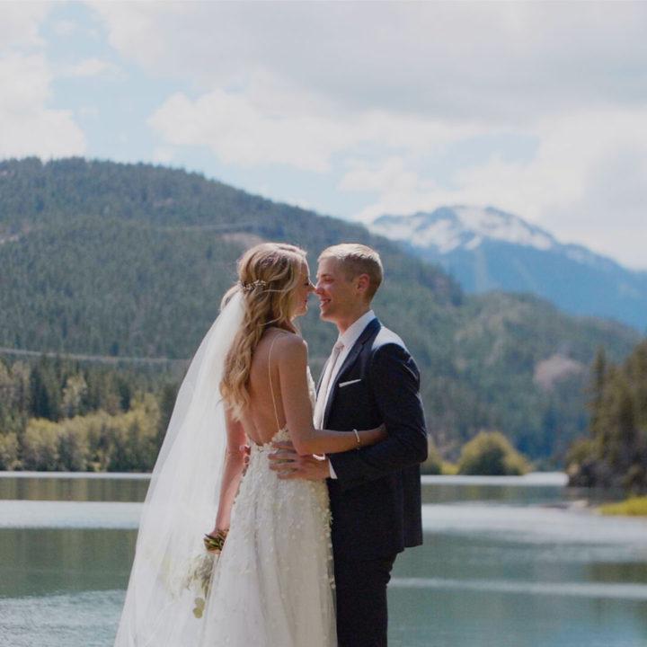 Stunning North Arm Farm Wedding Pemberton | Whistler Wedding Videographer | Rachel + Clark
