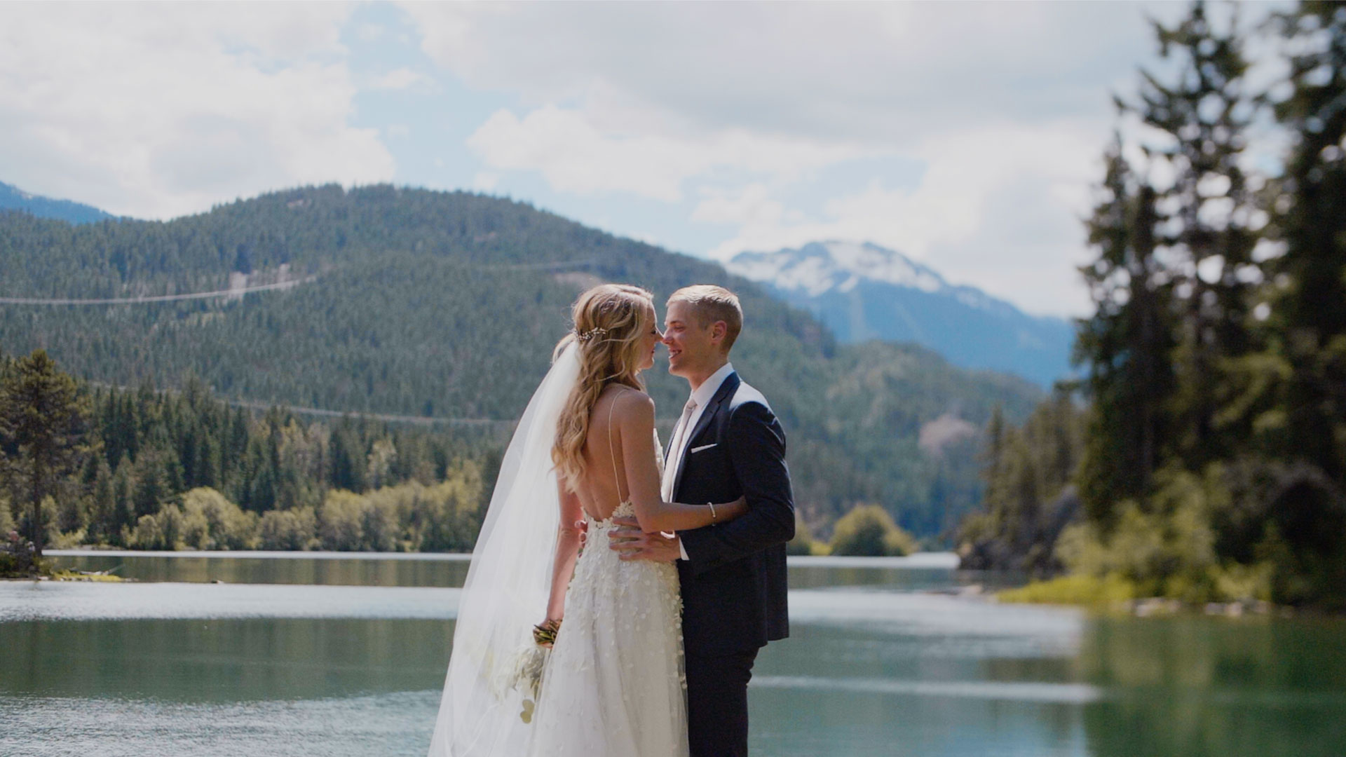 North Arm Farm Wedding in Pemberton BC. Whistler Wedding Videography by Kismet Creative