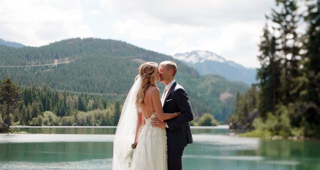 Stunning North Arm Farm Wedding Pemberton | Whistler Wedding Videographer | Rachel + Clark