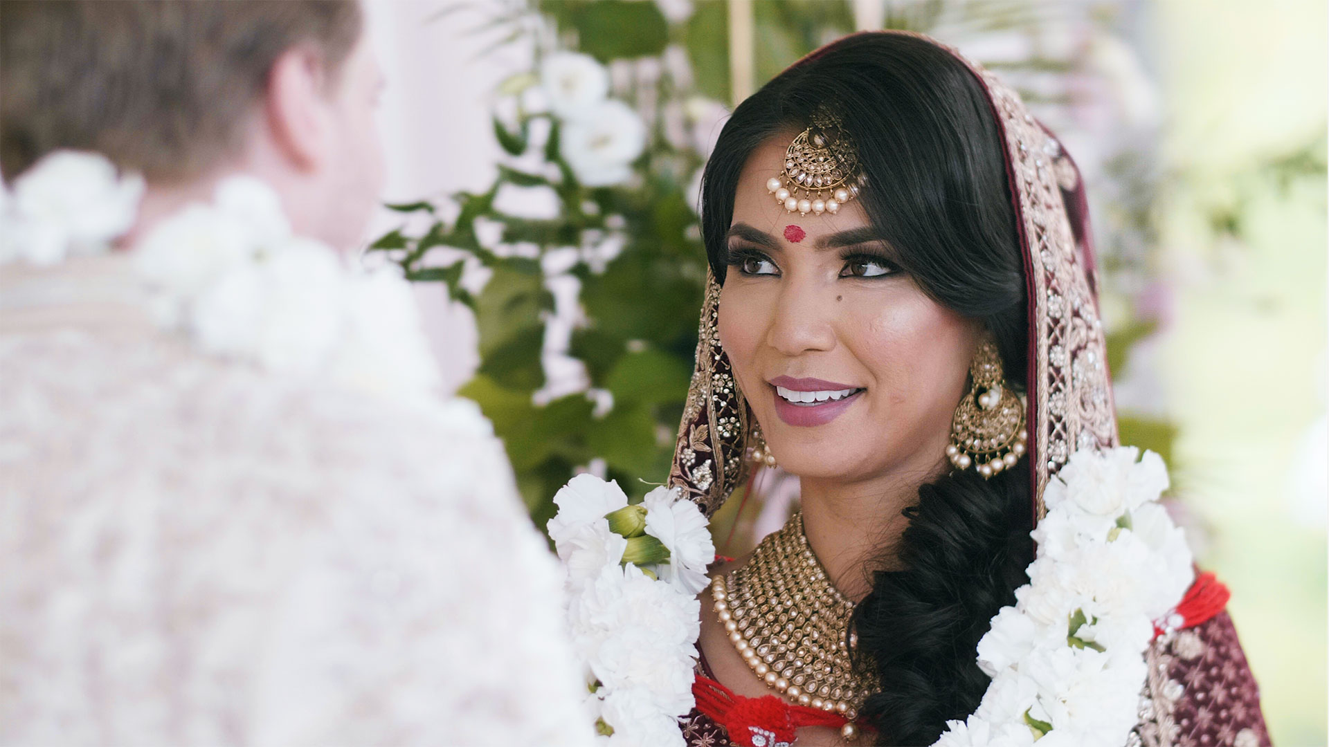 South Asian Bride during Hindu Ceremony at the Guild Inn Estate Toronto