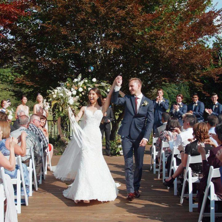 Stunning Swanset Bay Resort Wedding   Vancouver Wedding Videographer   James + Kianna
