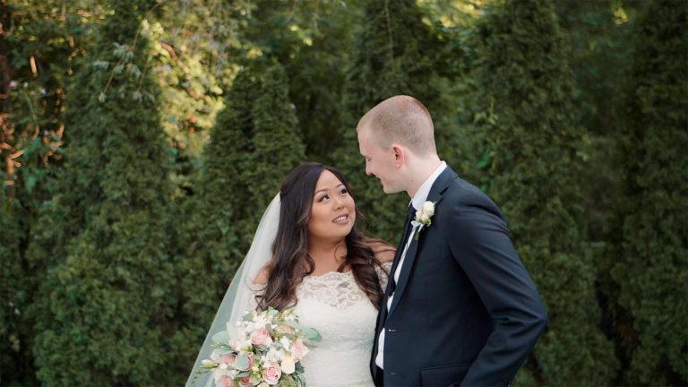 Madsen's Greenhouse Banquet & Chapel Wedding | Ashley + Greg