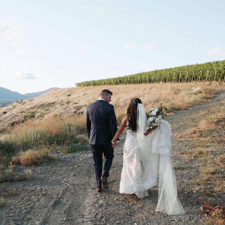 Painted Rock Winery Wedding   Okanagan Wedding Video   Chloe + Scott