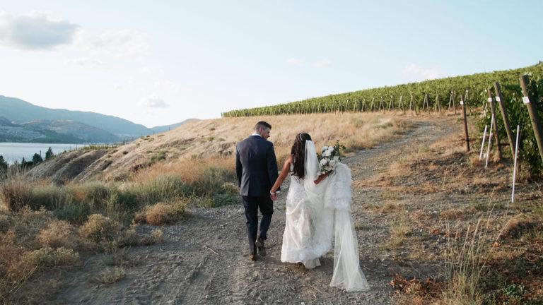 Painted Rock Winery Wedding | Okanagan Wedding Video | Chloe + Scott
