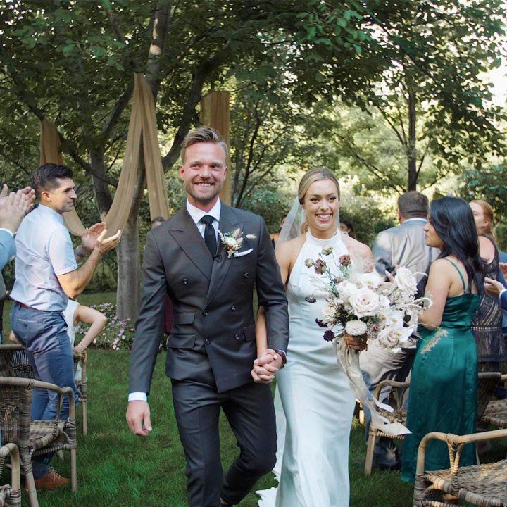 Okanagan Wedding Video   Linden Gardens Kaleden   Alexine + James