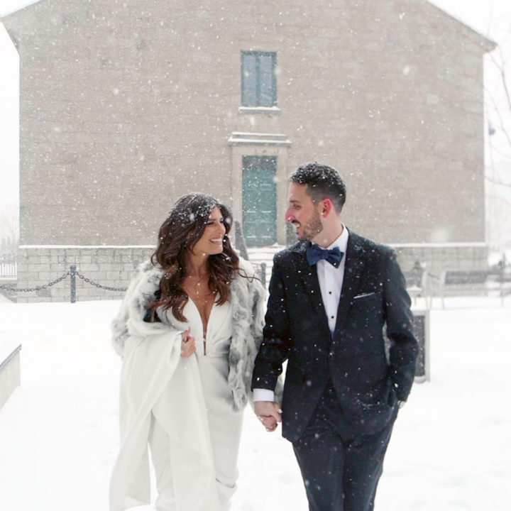 Dramatic Hotel X Toronto Wedding Videography | Jayme + Daniel