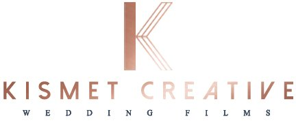 logo for kismet creative wedding videography in toronto, muskoka and niagara