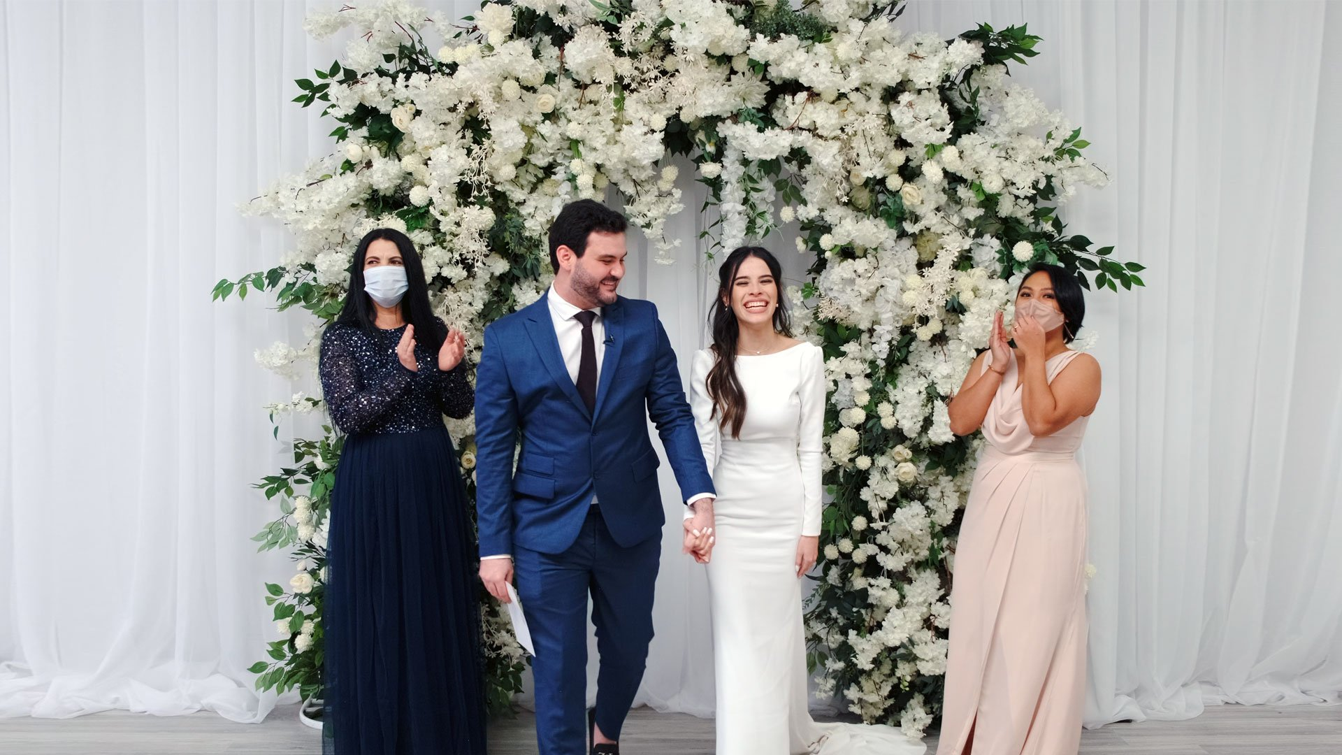Micro Wedding at Bellamy Loft + The Roundhouse Toronto